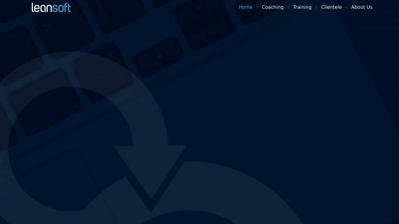 leansoft.co.in Screenshotx