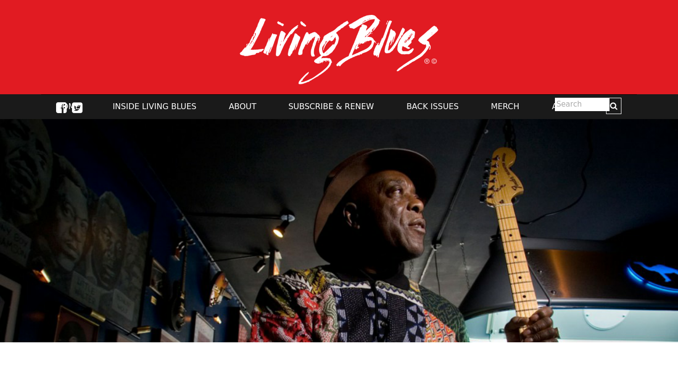 livingblues.com Screenshotx