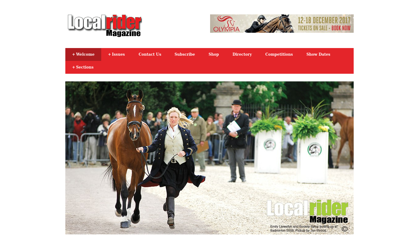 localrider.co.uk Screenshotx