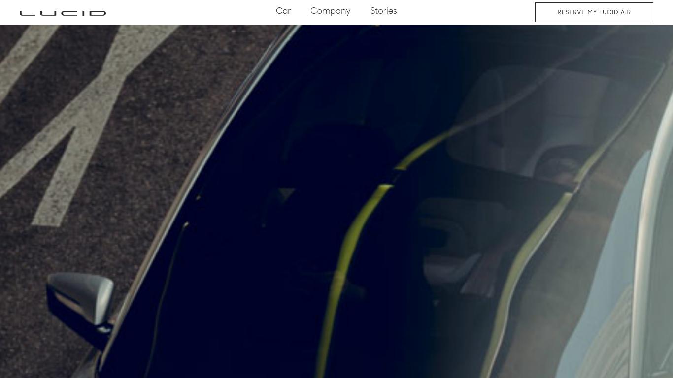 lucidmotors.com Screenshotx