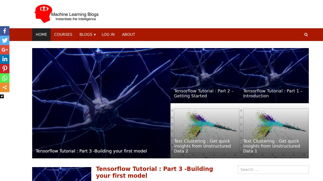 machinelearningblogs.com Screenshotx