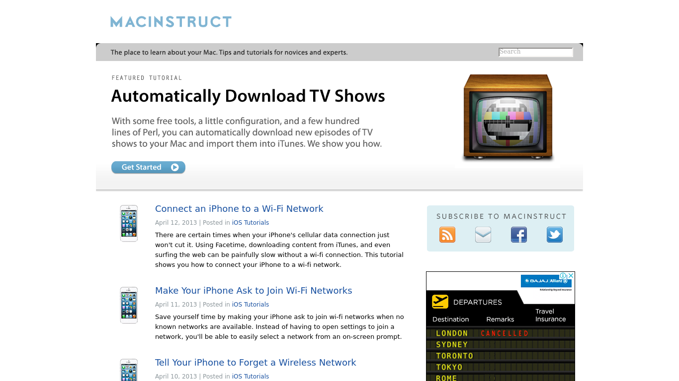 macinstruct.com Screenshotx