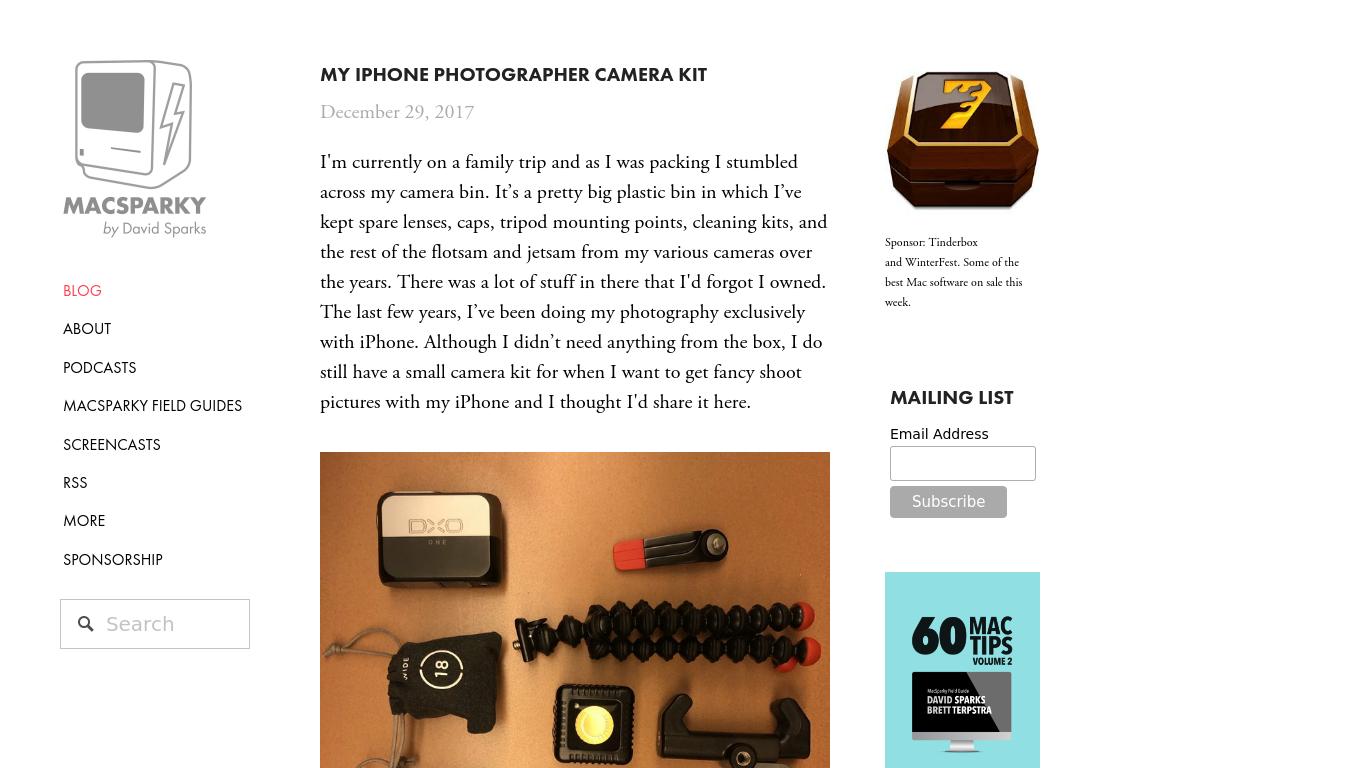 macsparky.com Screenshotx