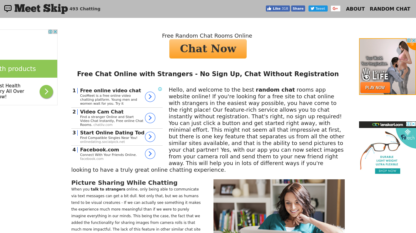 Free chat room no sign in