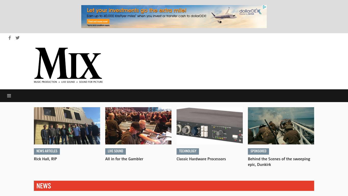 mixonline.com Screenshotx