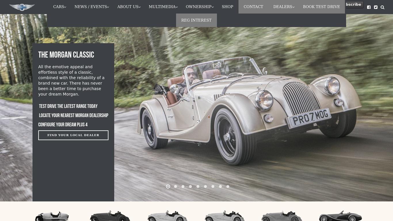 morgan-motor.co.uk Screenshotx