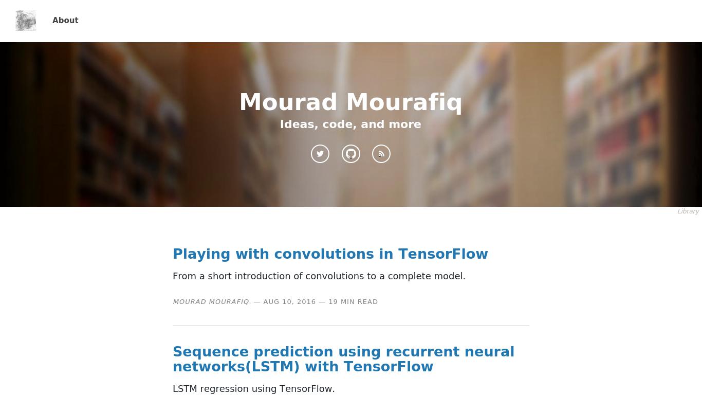 mourafiq.com Screenshotx
