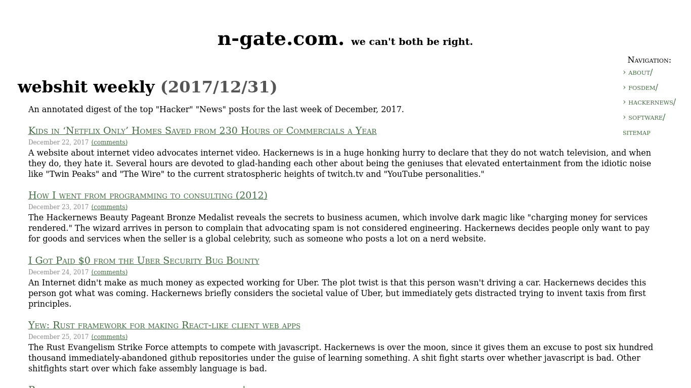 n-gate.com Screenshotx