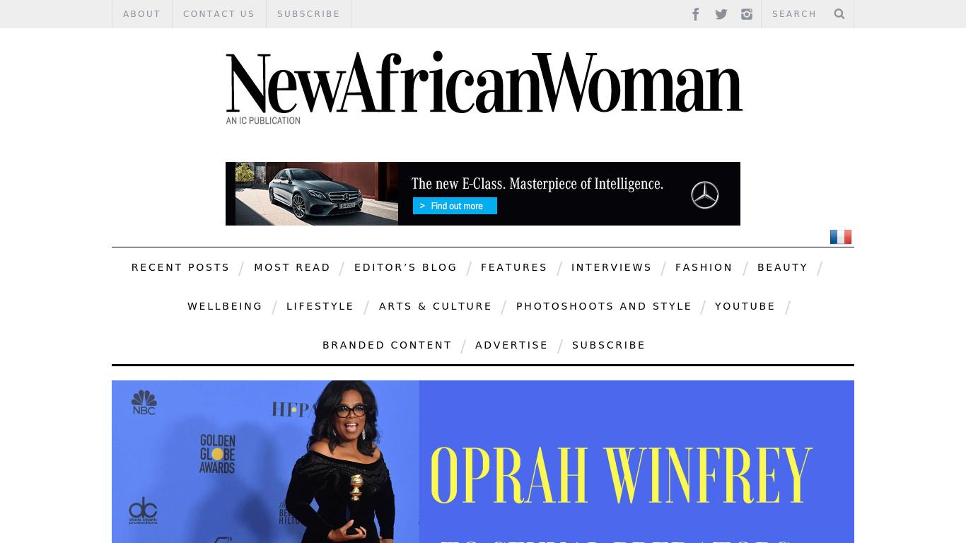 nawmagazine.com Screenshotx