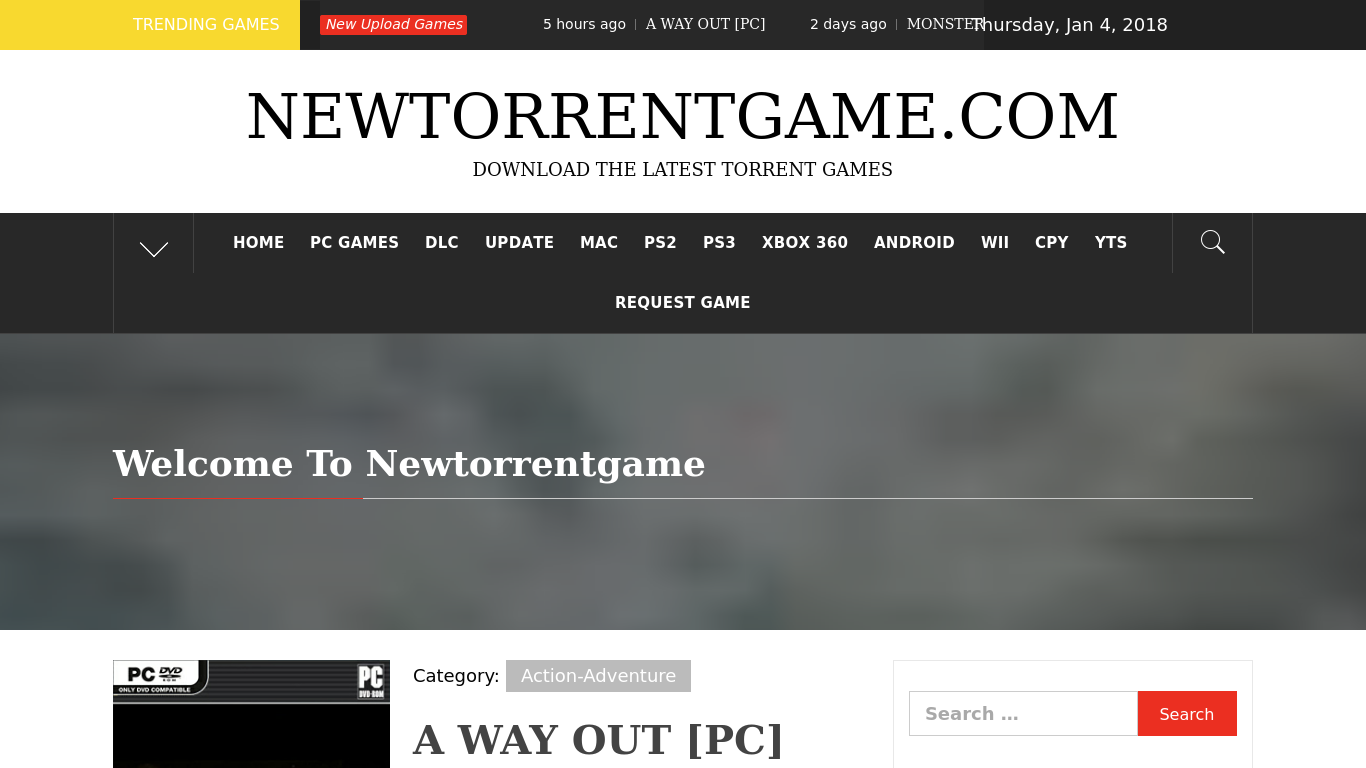 New Torrent Game