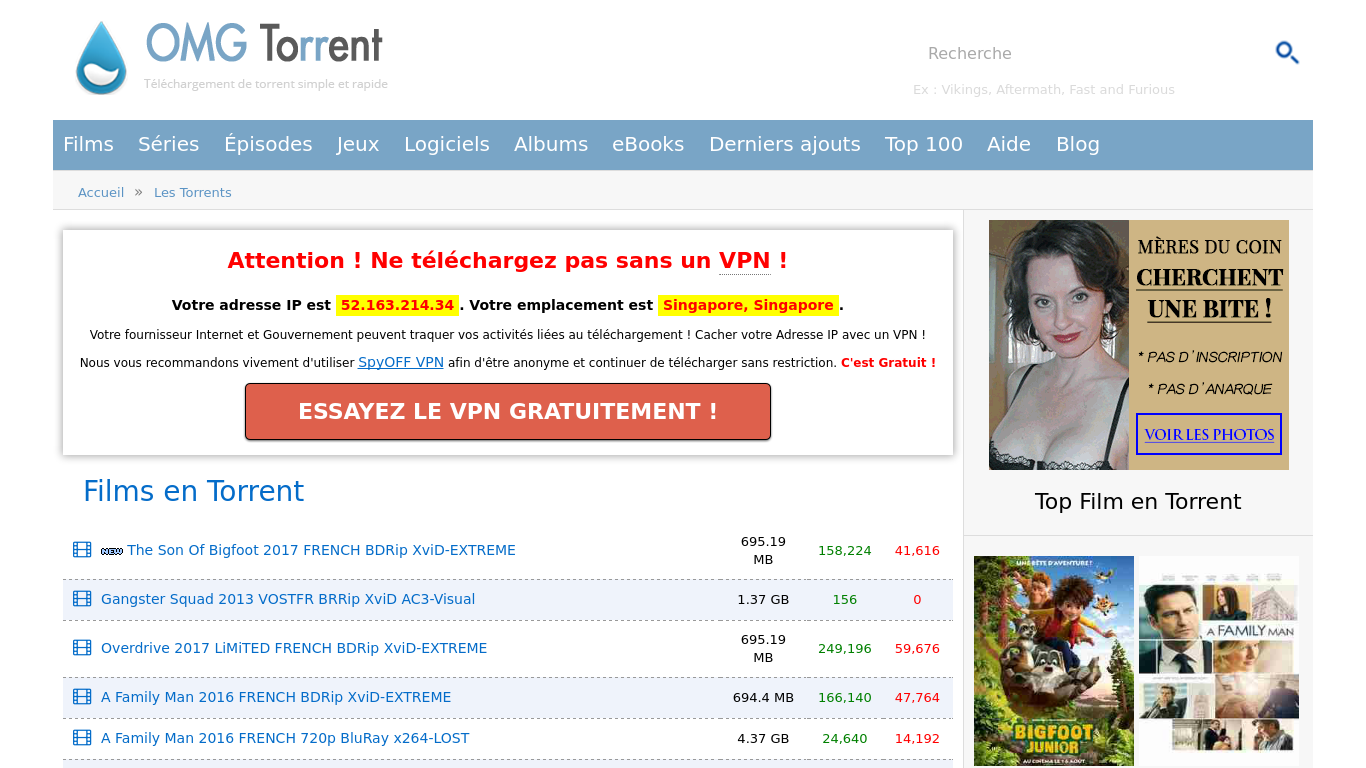 omgtorrent.me Screenshotx