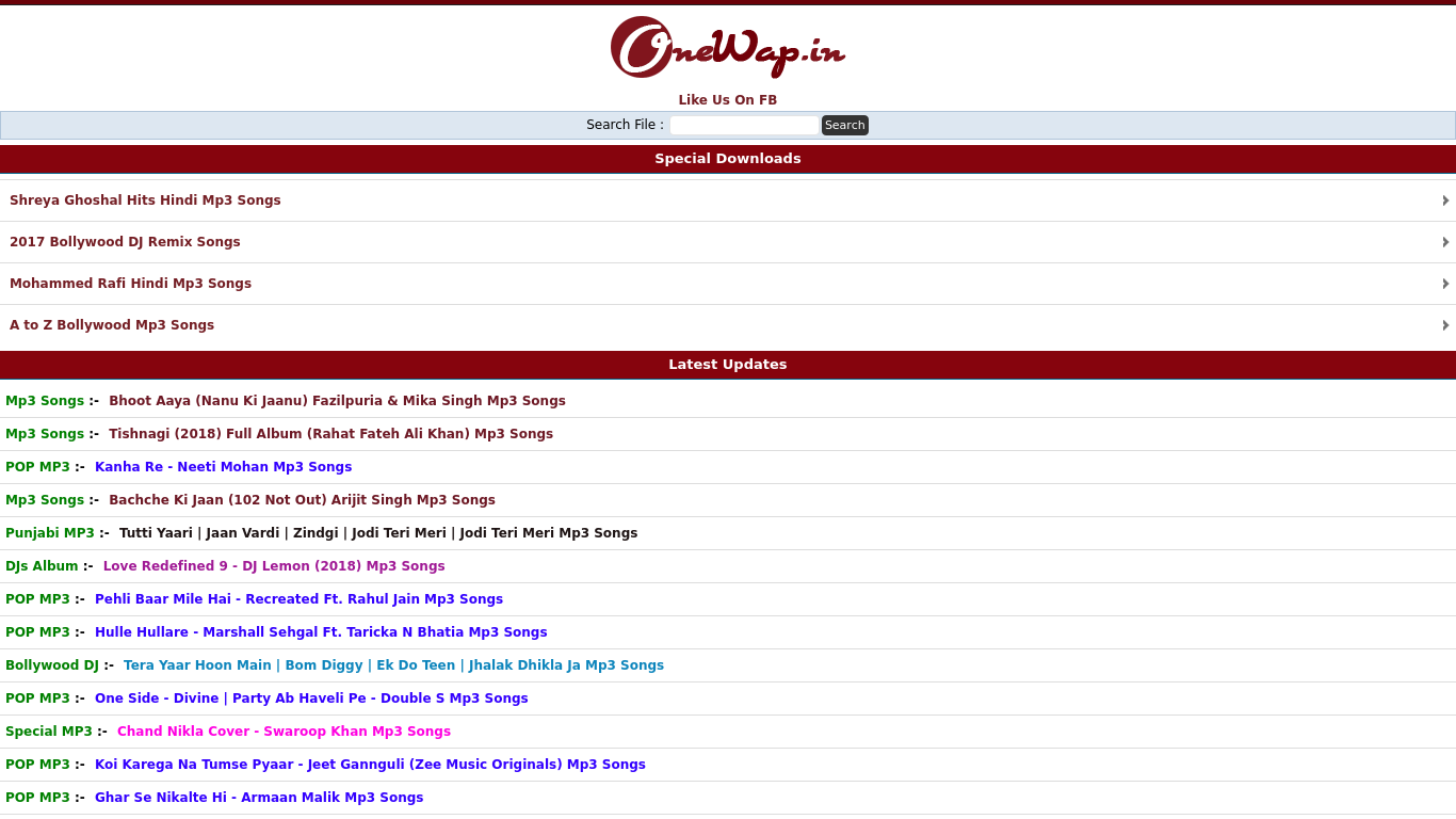 wap hindi a to z mp3 songs