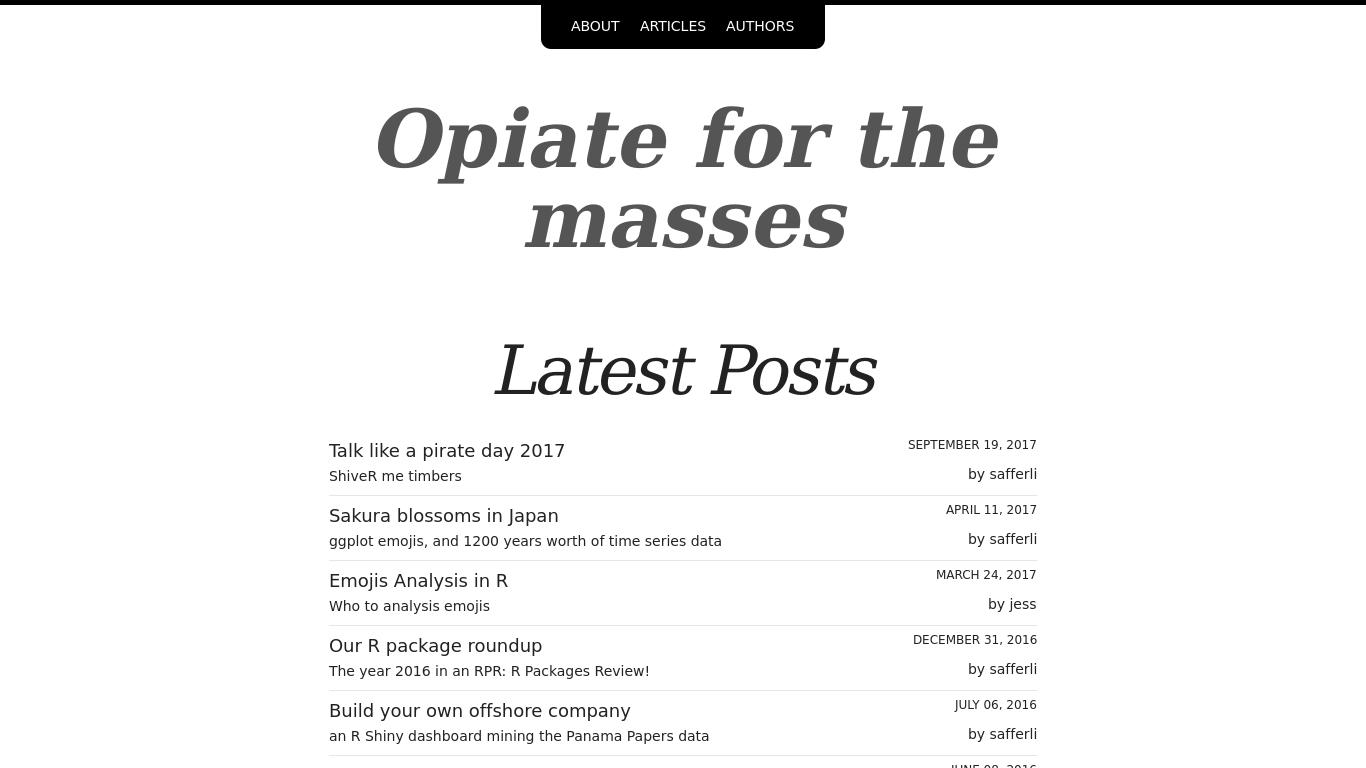 opiateforthemass.es Screenshotx