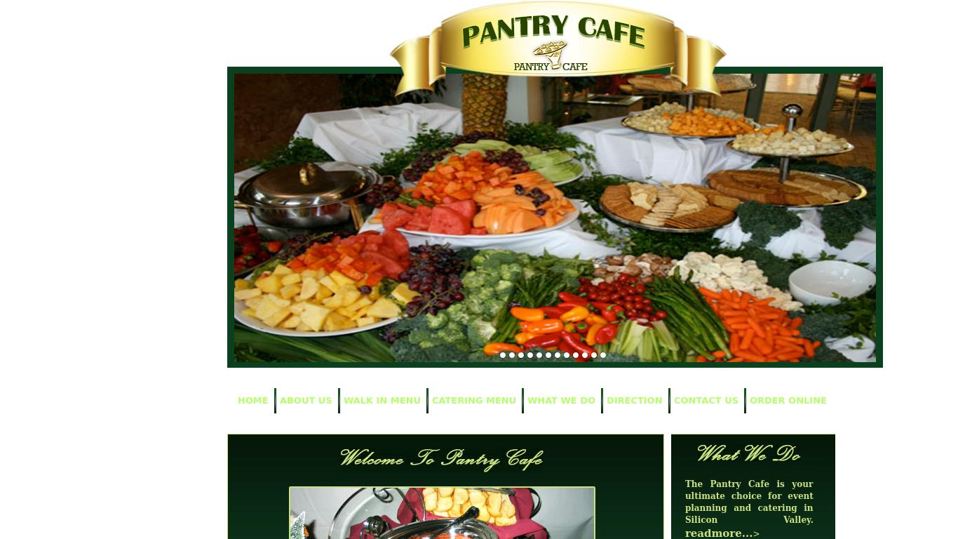 pantrycafe.us Screenshotx