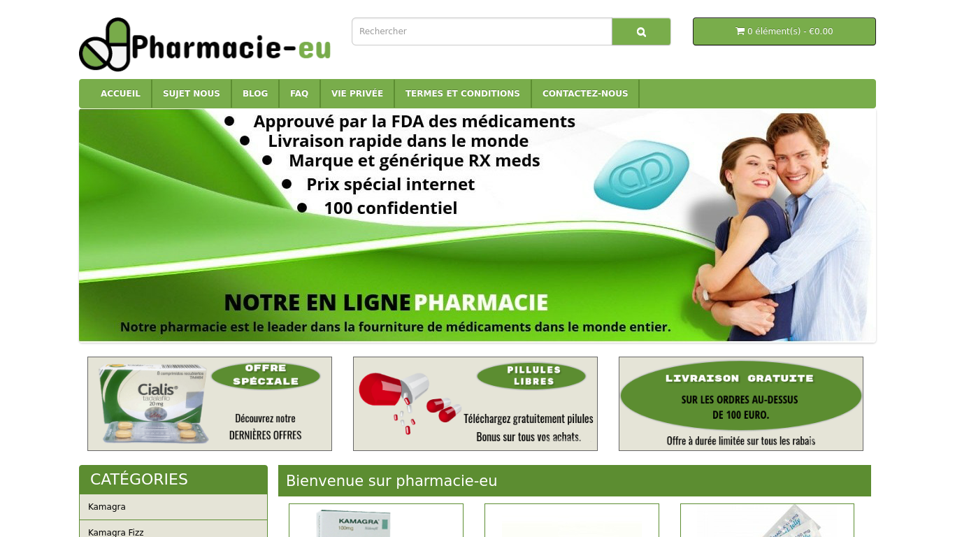 pharmacie-eu.com Screenshotx