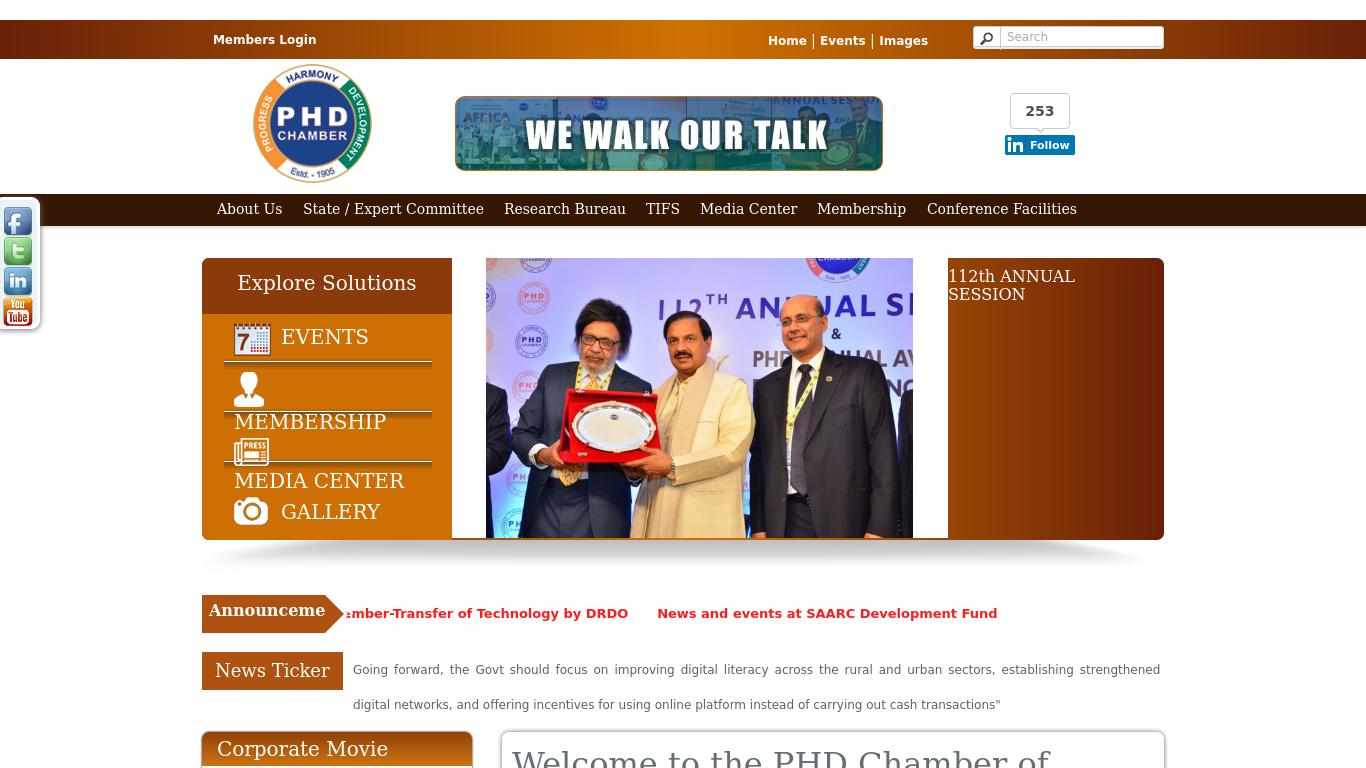 phdcci.in Screenshotx
