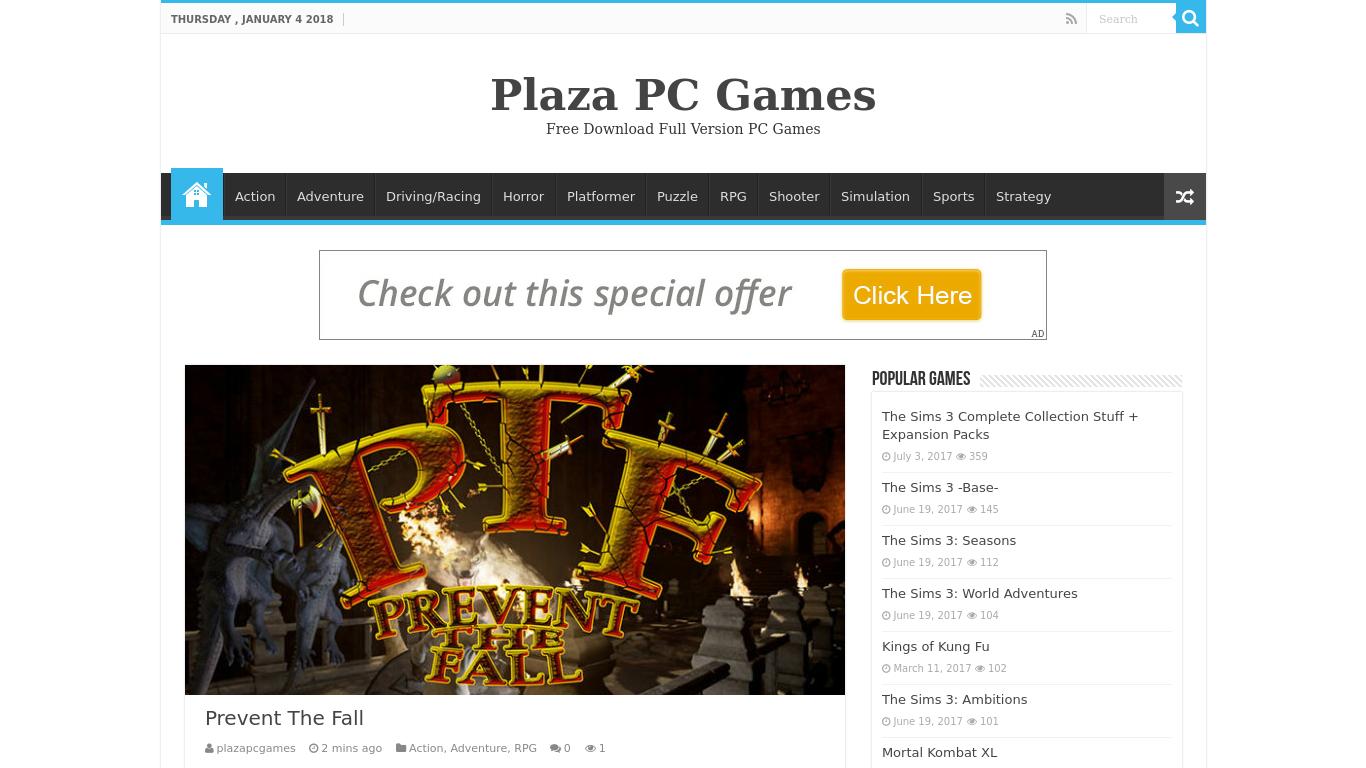 plazapcgames.com Screenshotx