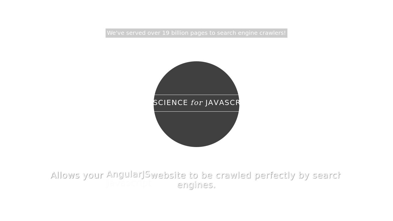 prerender.io Screenshotx