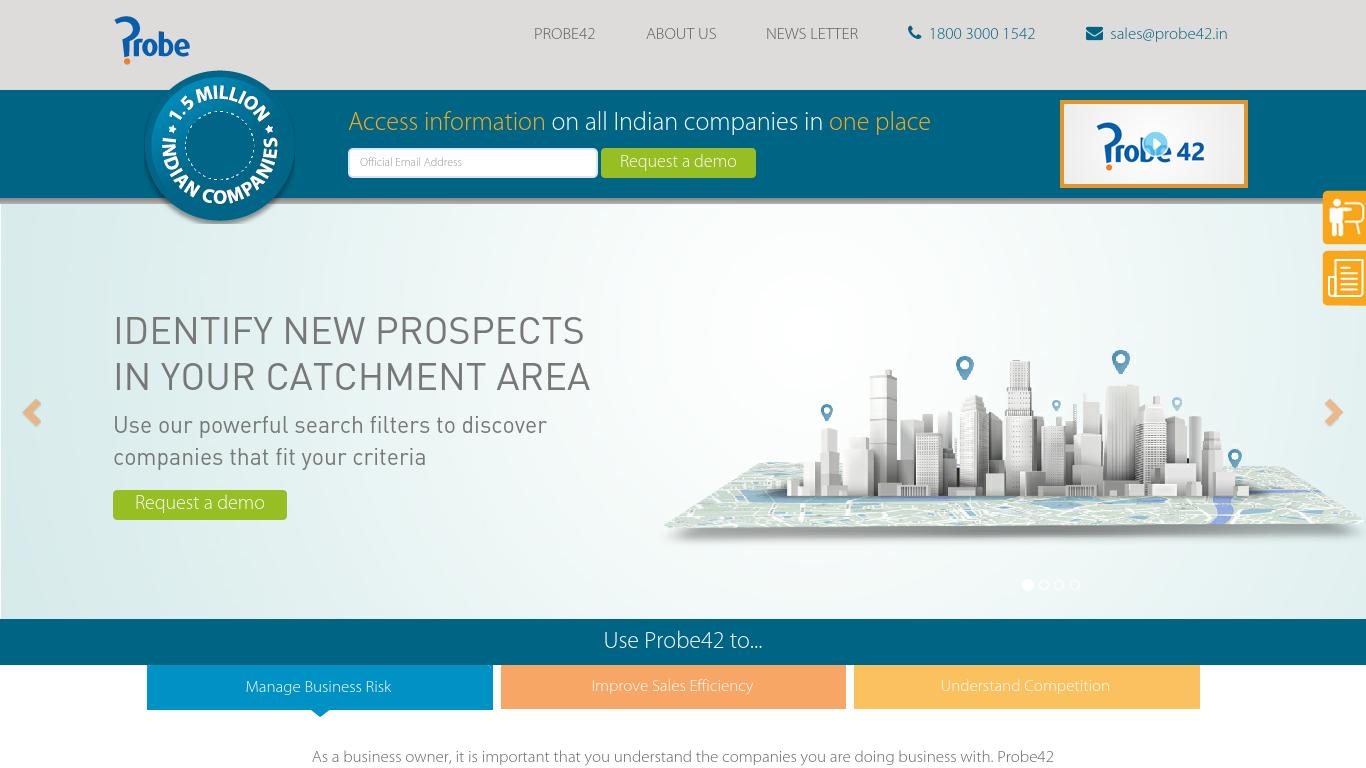probeinformation.com Screenshotx