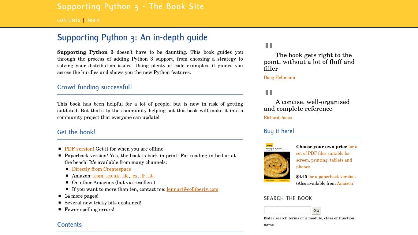 python3porting.com Screenshotx
