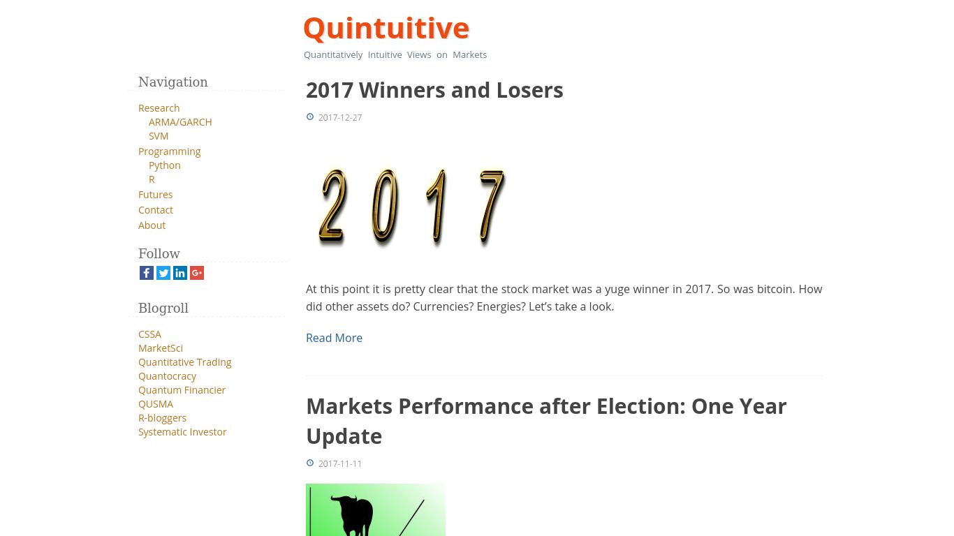 quintuitive.com Screenshotx
