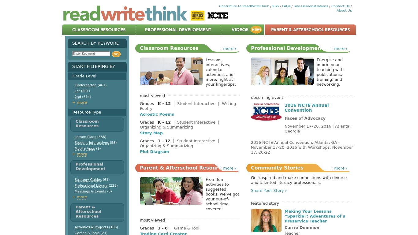 readwritethink.org essay map