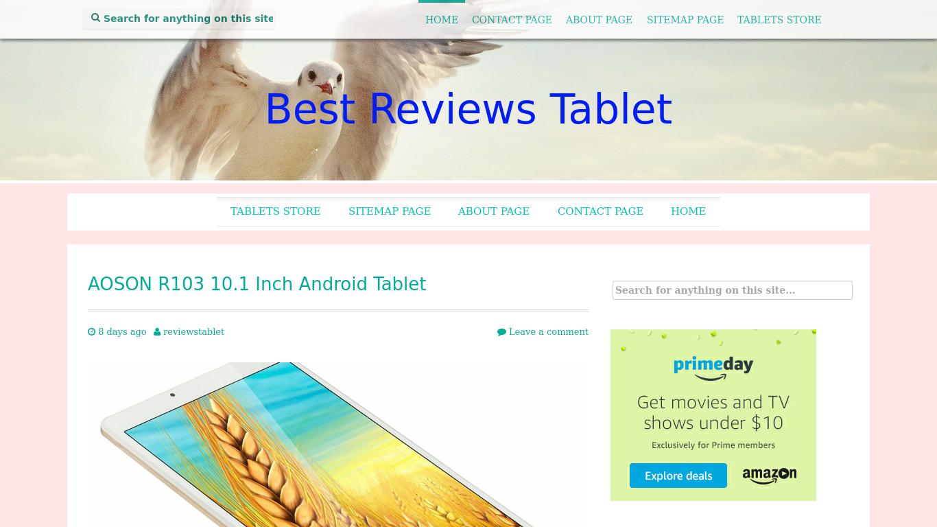 reviews-tablet.com Screenshotx