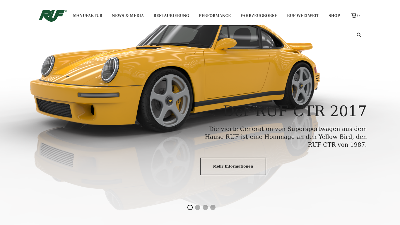 ruf-automobile.de Screenshotx