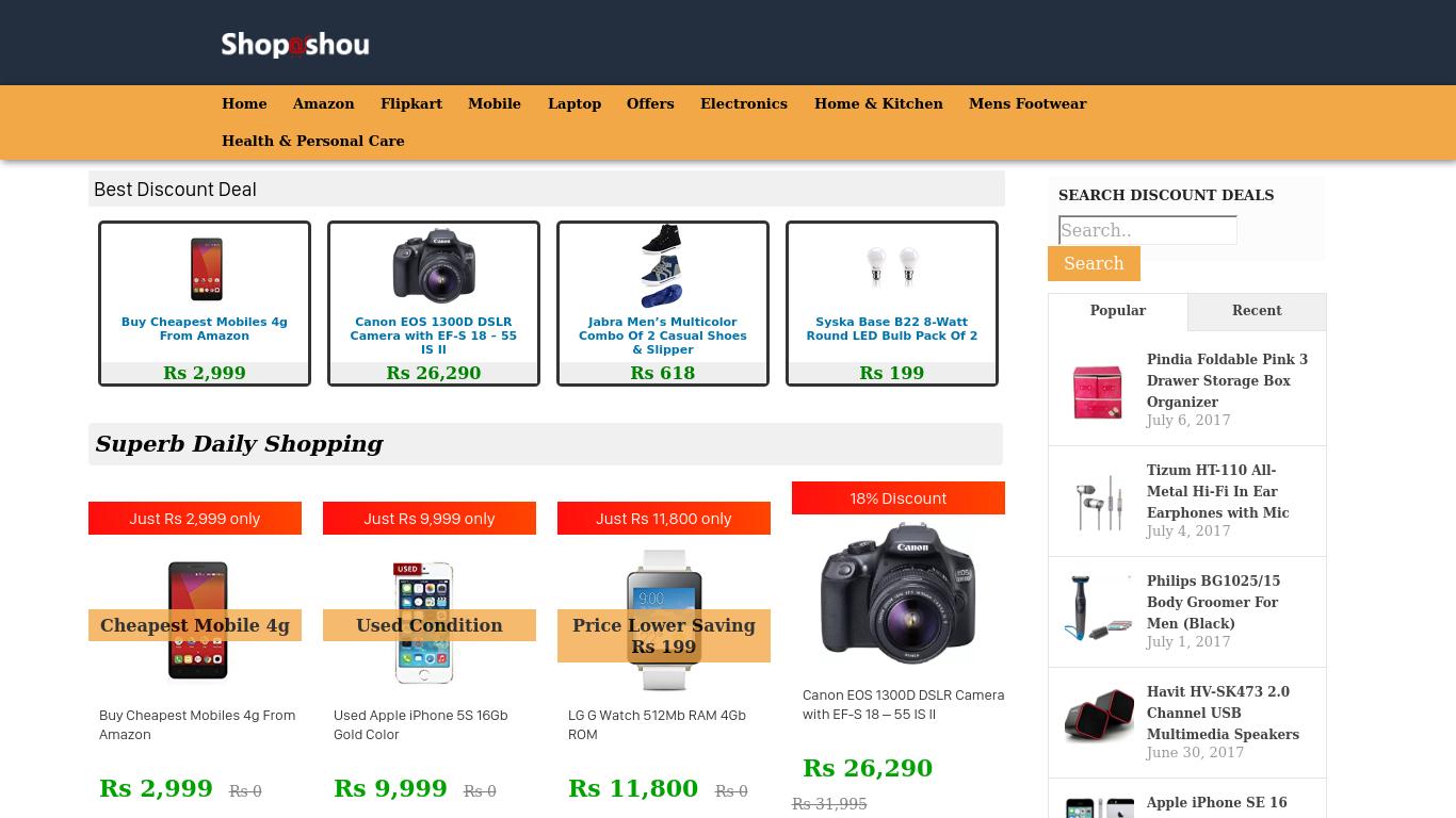 shoposhou.com Screenshotx