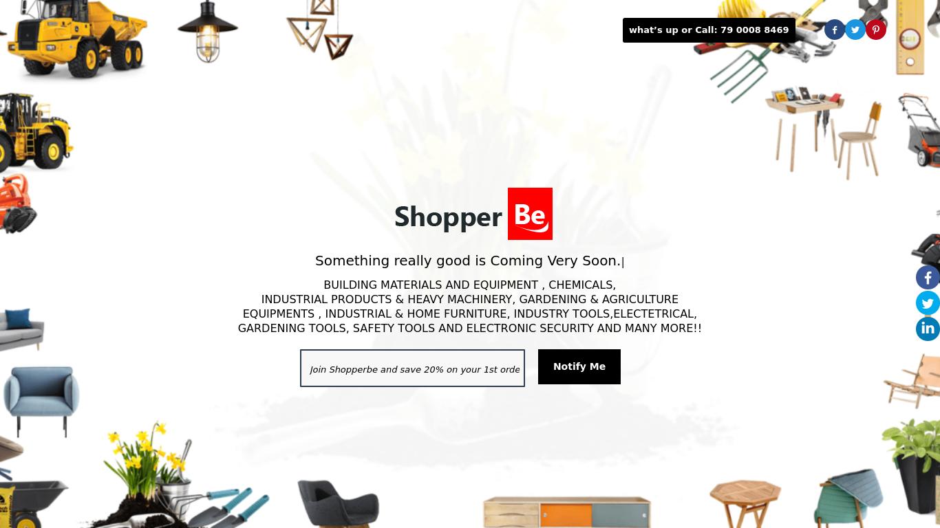 shopperbe.com Screenshotx