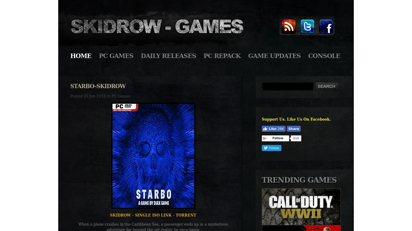 skidrow-games.com Screenshotx