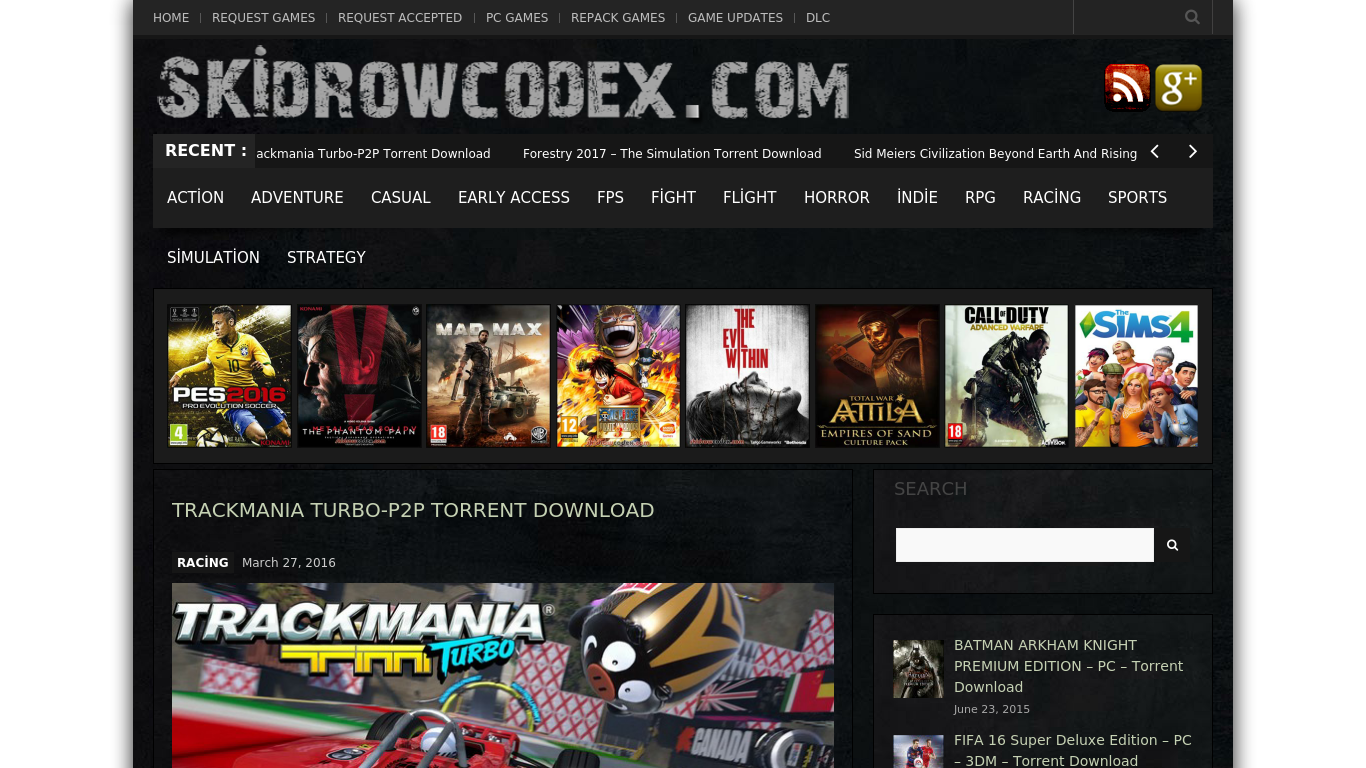 Skidrow Codex