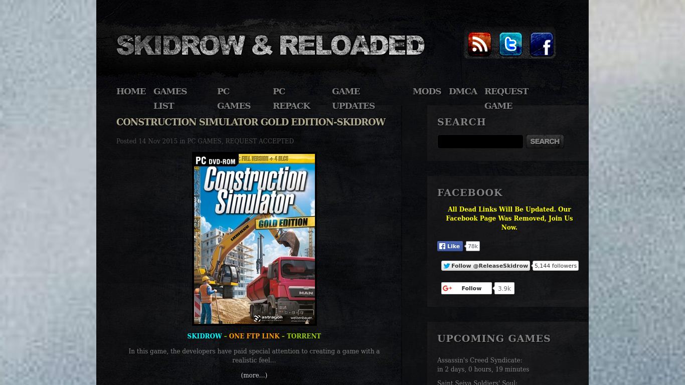 Skidrow & Reloaded