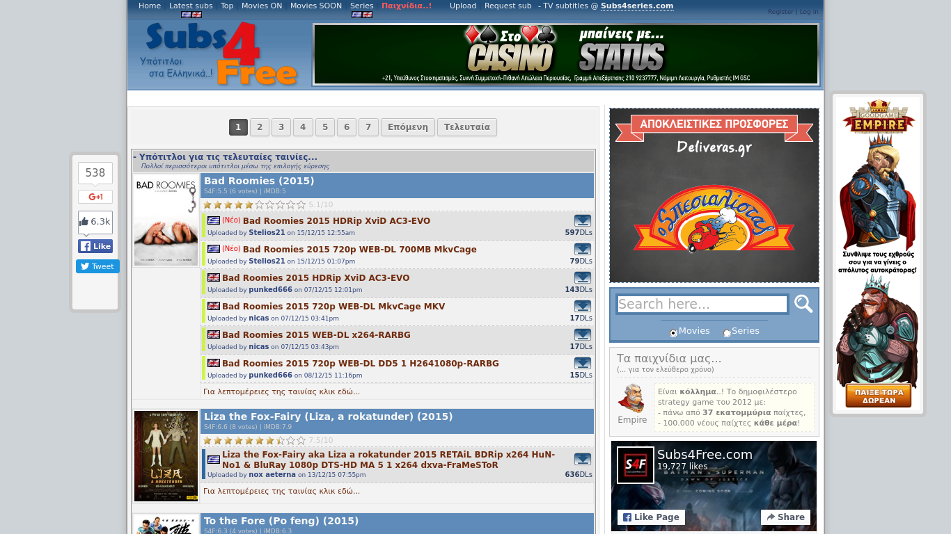subs4free.com Screenshotx