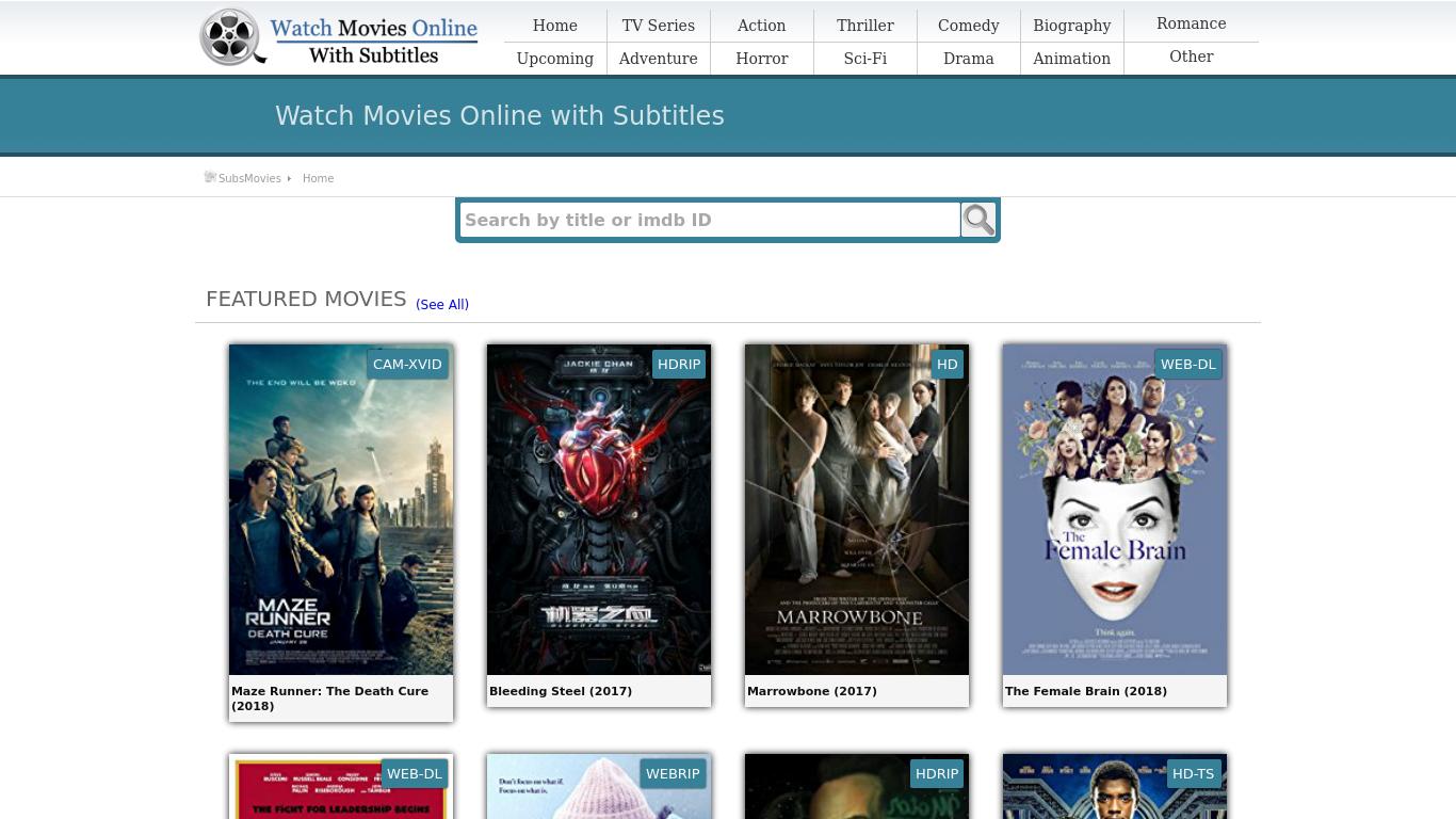Sub movies