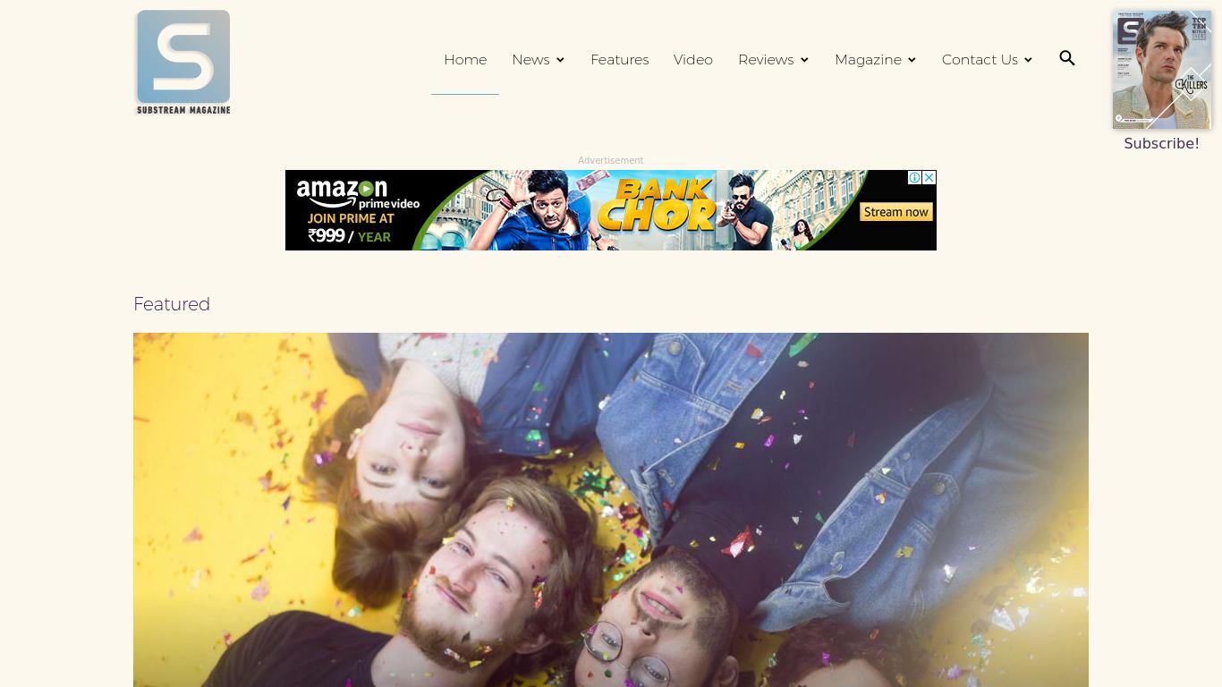 substreammagazine.com Screenshotx
