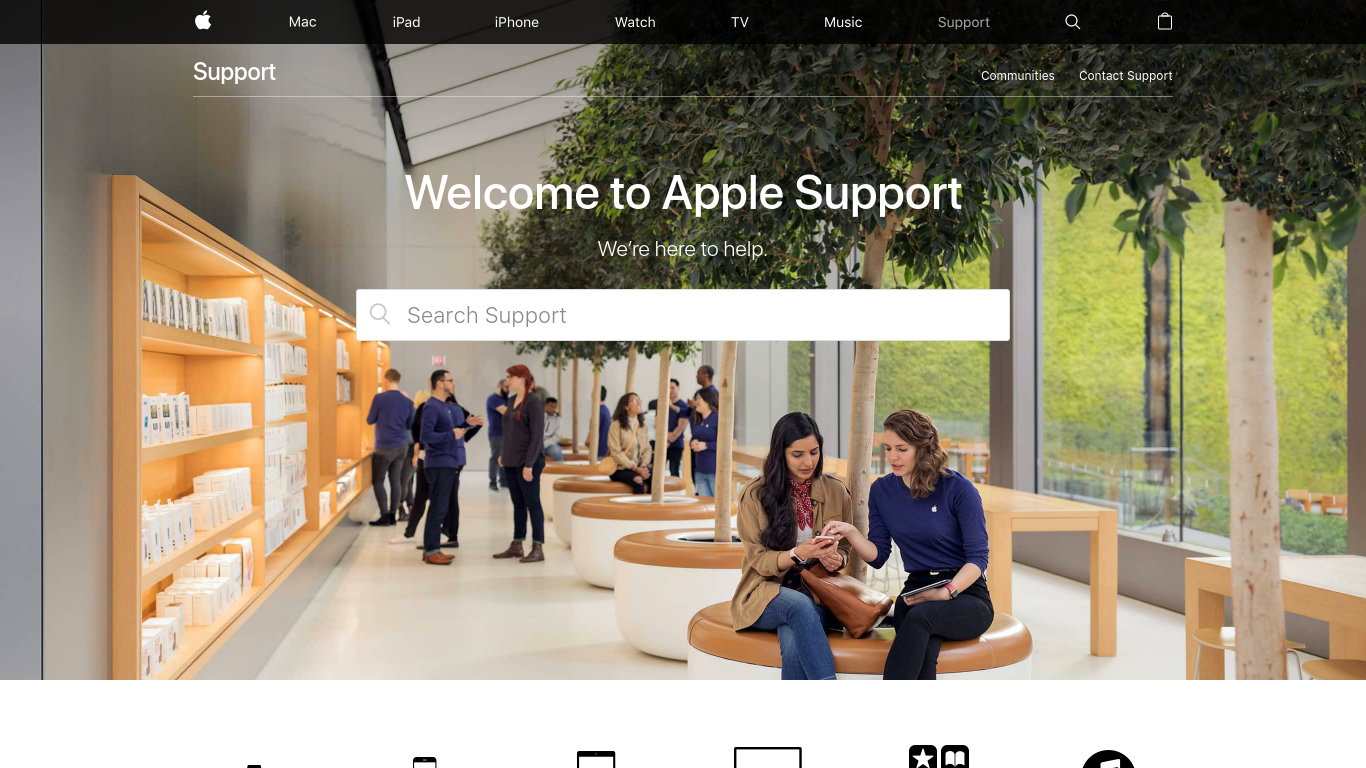 support.apple.com Screenshotx