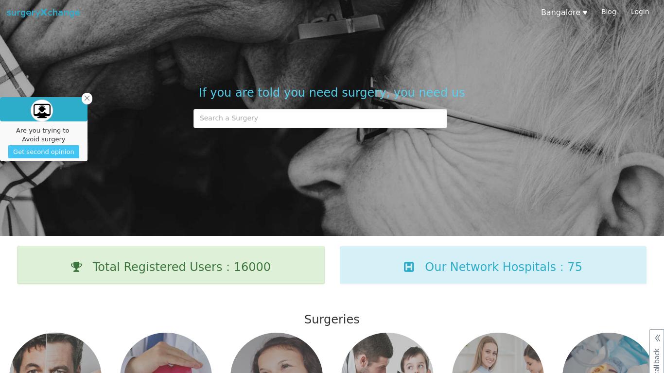 surgeryxchange.com Screenshotx