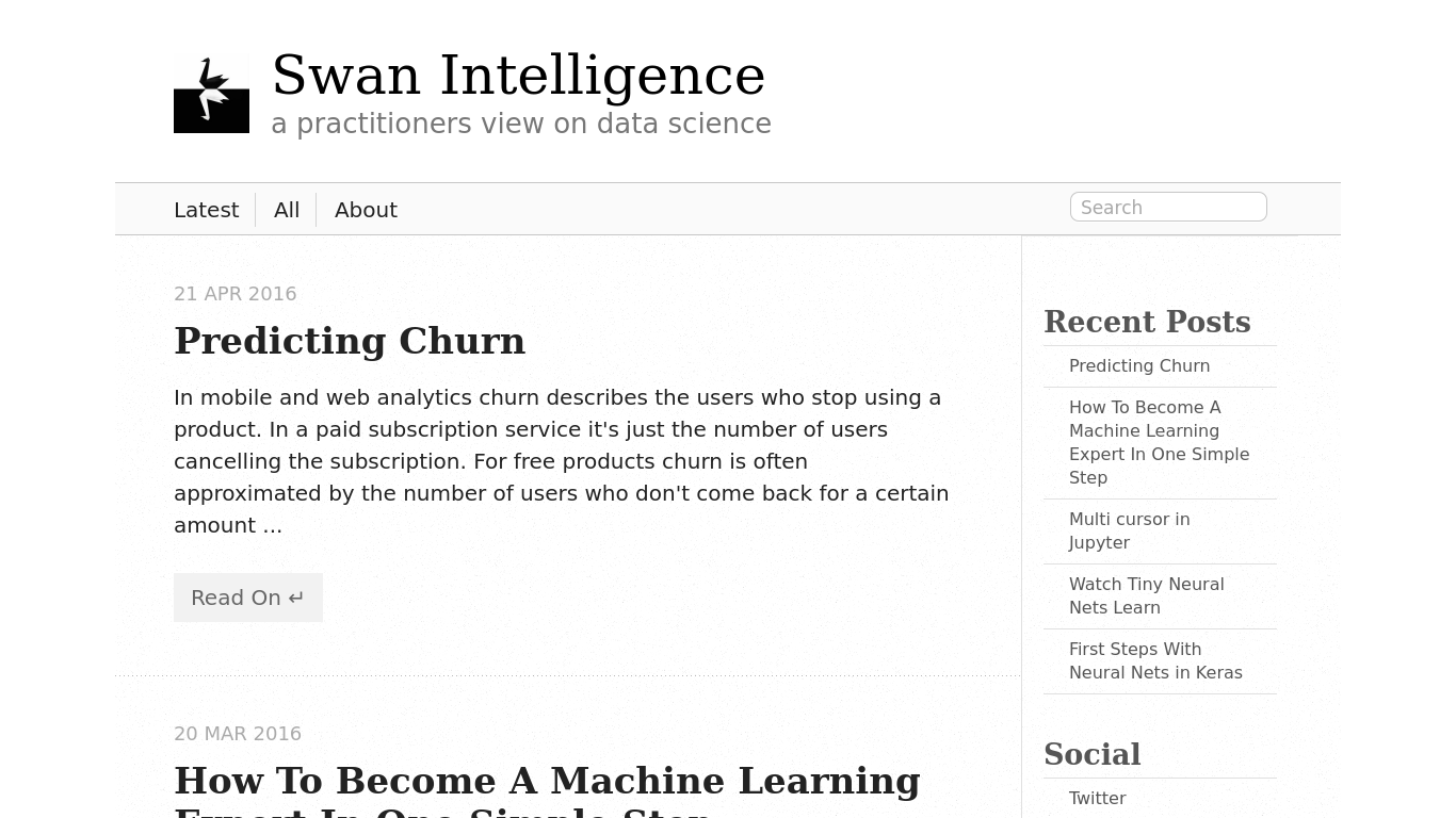 swanintelligence.com Screenshotx