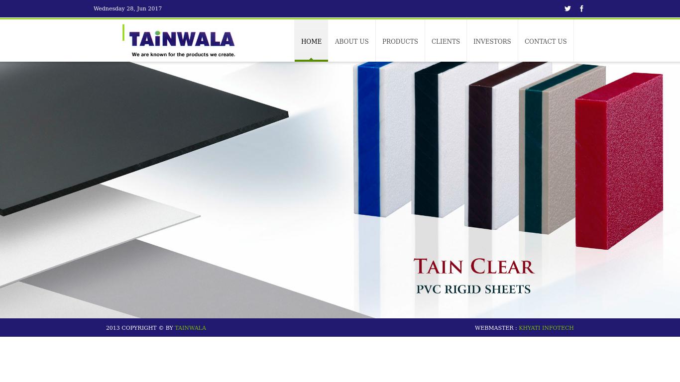 tainwala.in Screenshotx
