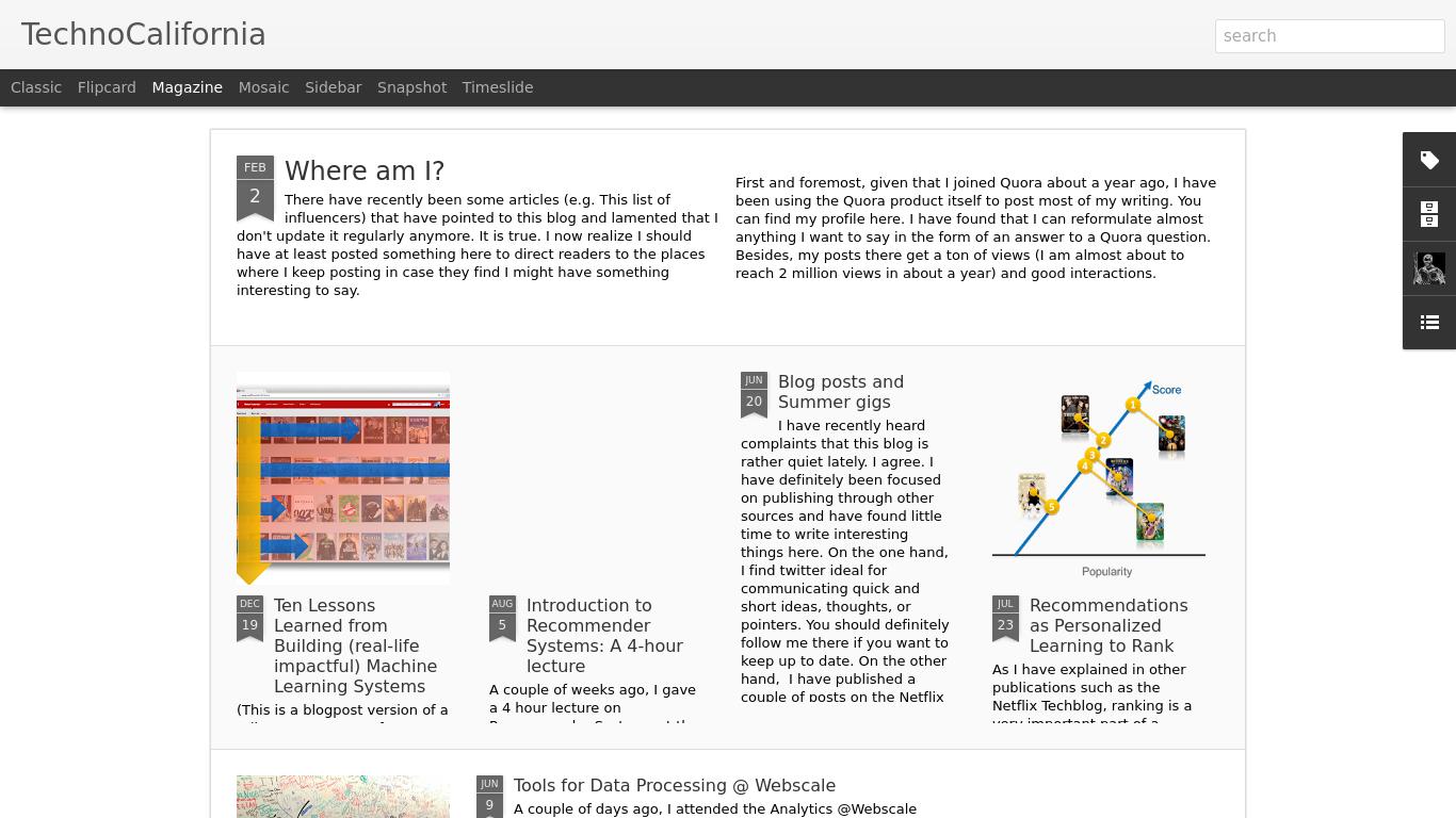 technocalifornia.blogspot.se Screenshotx