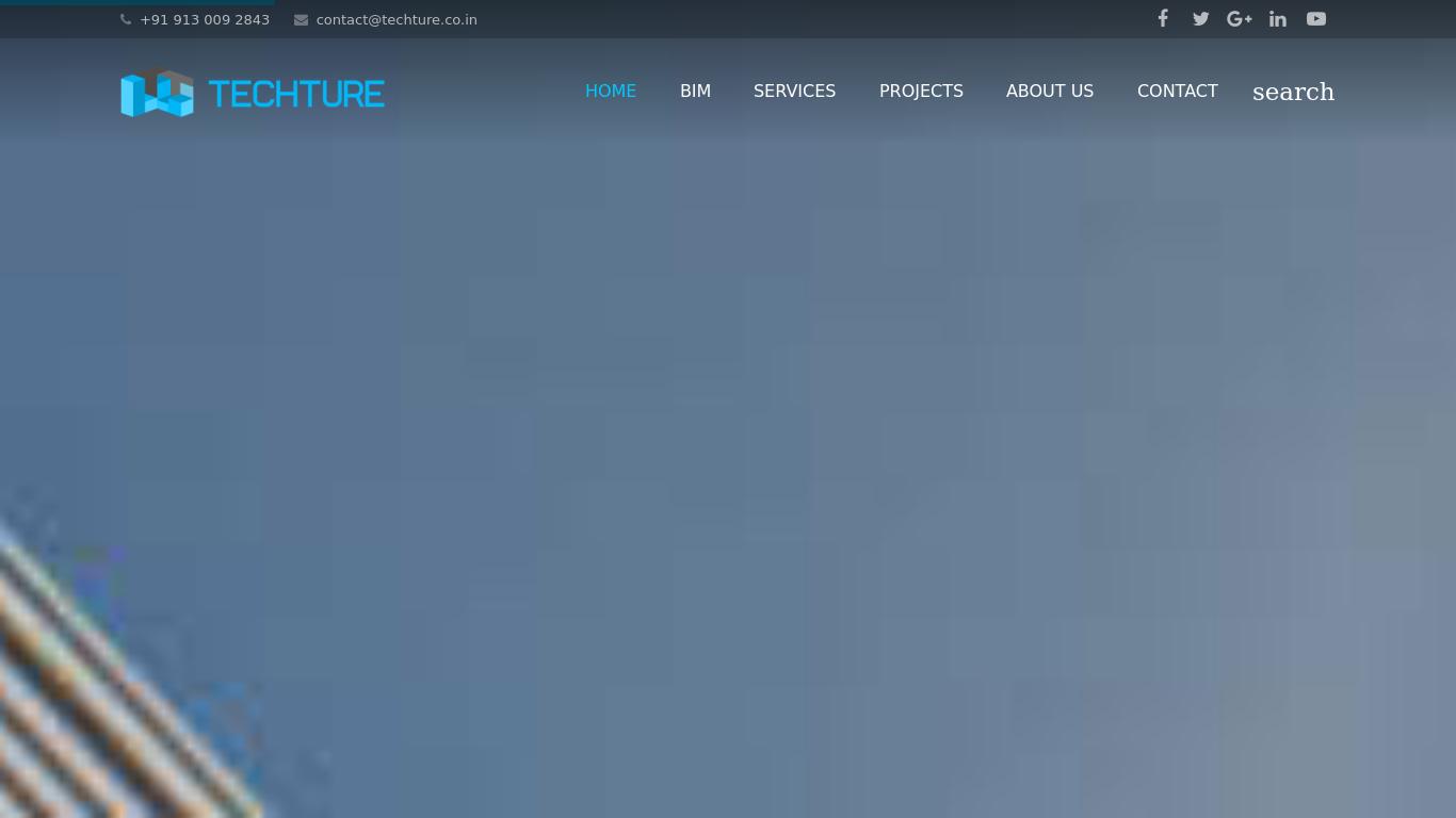techture.co.in Screenshotx