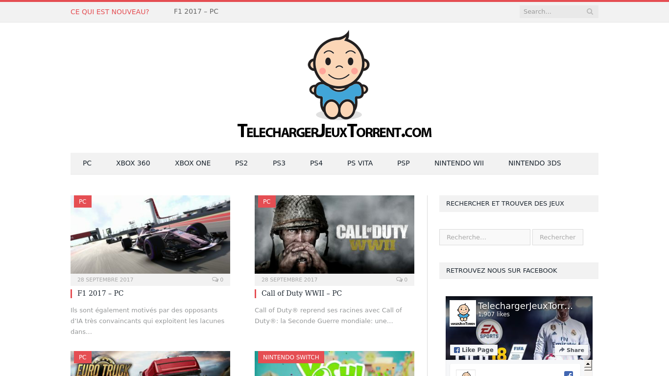 telechargerjeuxtorrent.com Screenshotx