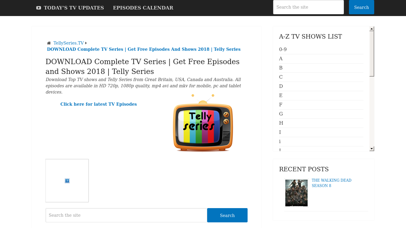 TellySeries Alternatives - 24 Best TellySeries Alternatives in 2019
