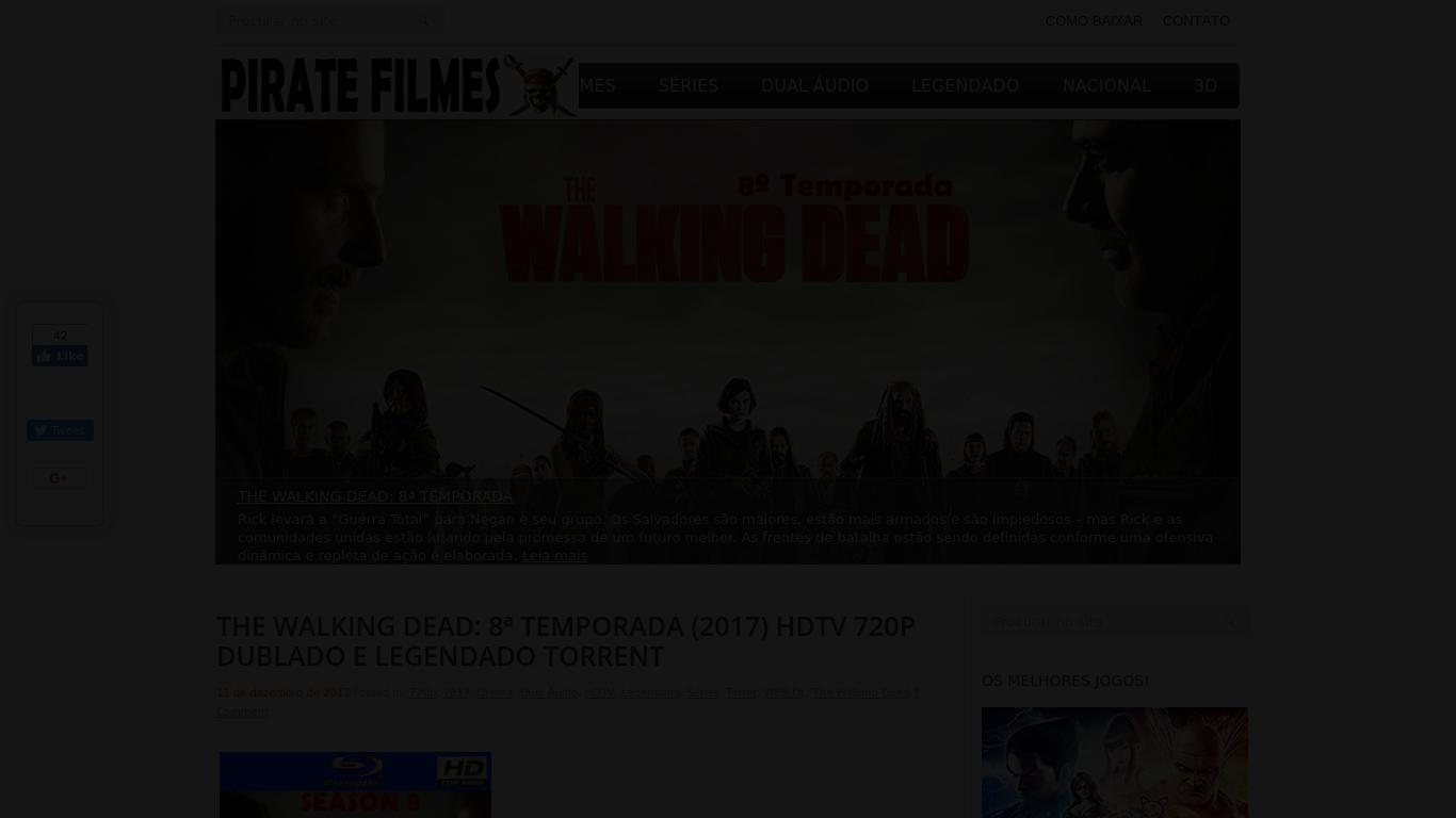 thepiratefilmestorrent.com Screenshotx