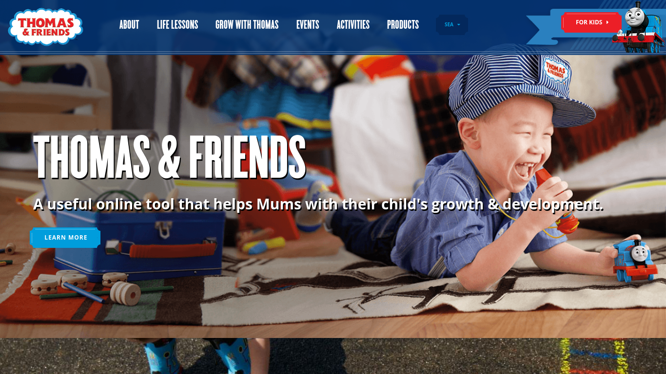 thomasandfriends.com Screenshotx