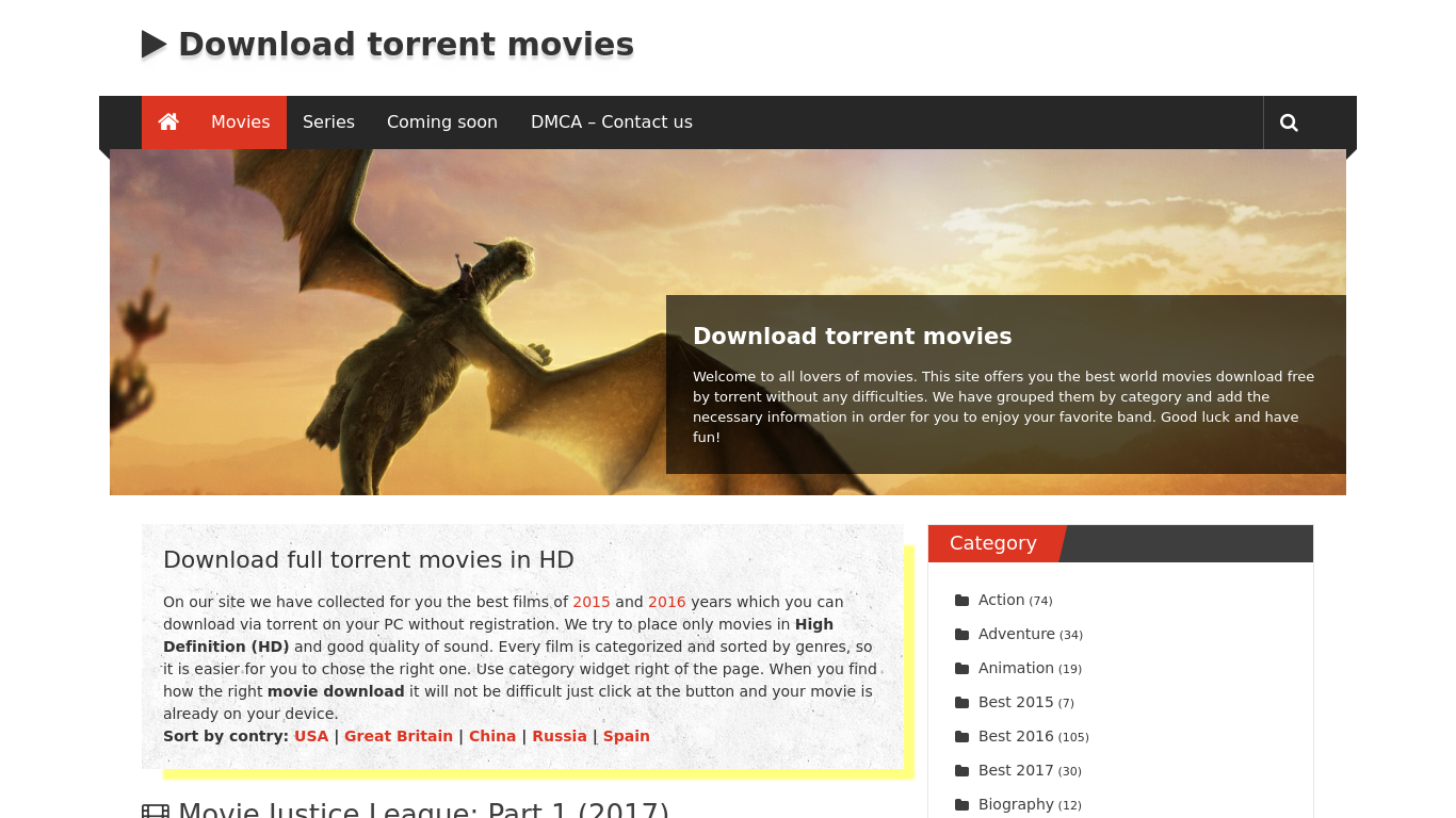 torrents-movie.net Screenshotx