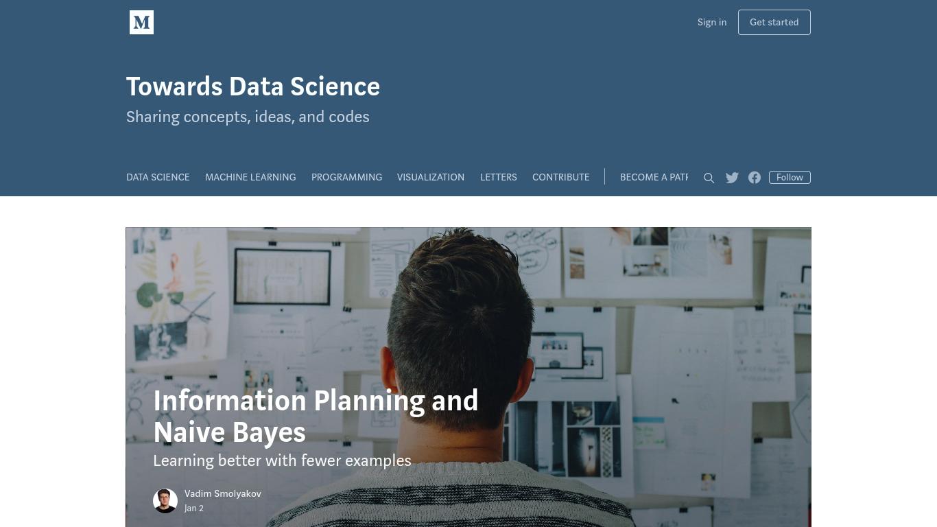 towardsdatascience.com Screenshotx
