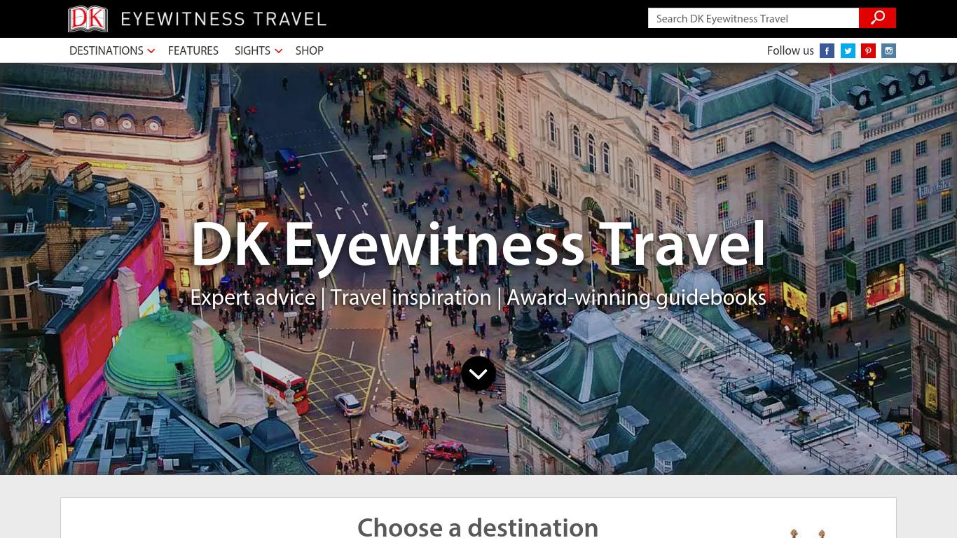 traveldk.com Screenshotx