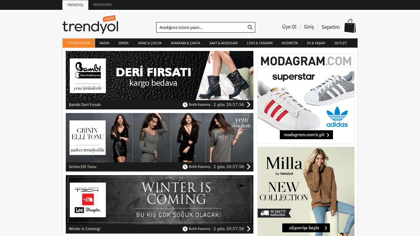 flash sale website trendyol Trendyol, a turkish flash sale site, just raised $26 million from investors including kleiner perkins (kpcb), whose related investments include fashion rental service rent the runway and home design flash sale site one kings lane it brings the company's total funding to $50 million.